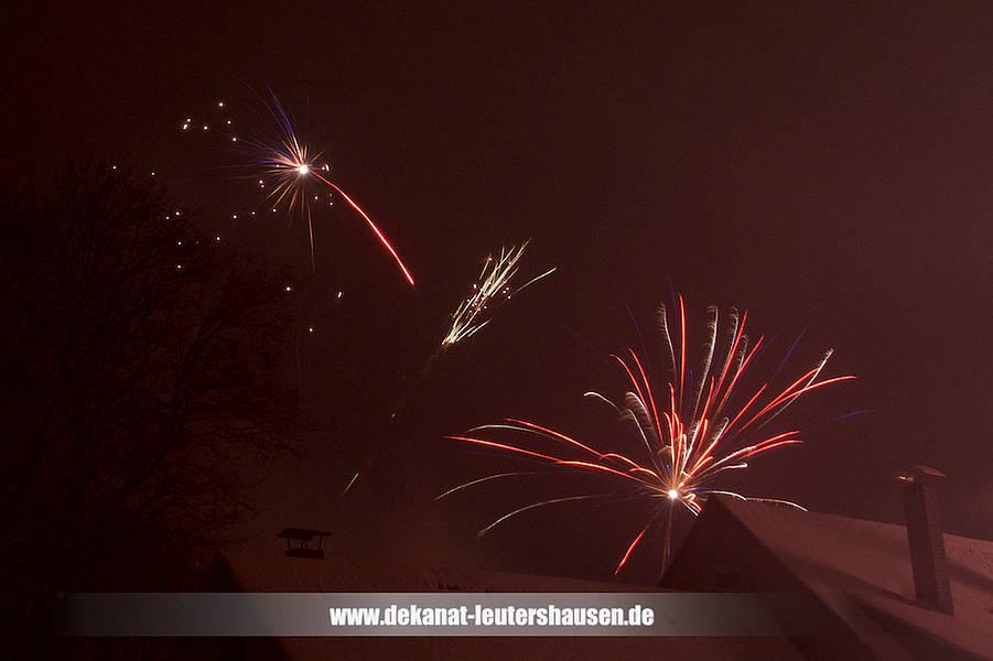 Dekanat Leutershausen: Gottes Segen zum Jahreswechsel!